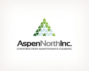 piramit a harfi inşaat firması logo tasarımı