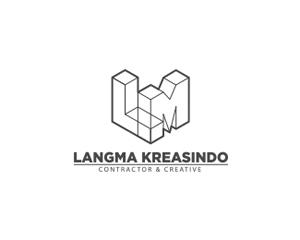 LM inşaat logo tasarım
