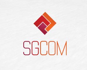Kare teknoloji logo tasarımı