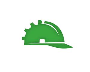 kask inşaat logosu