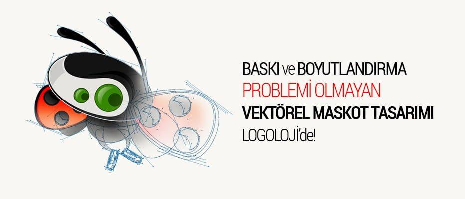 logoloji vektörel maskot tasarımı