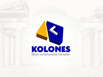 kolones bilişim logo tasarımı