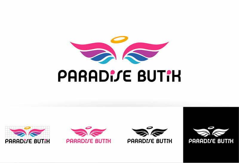 paradise butik logosu
