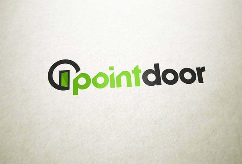 pointdoor kapı logos tasarımı
