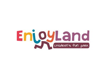 enjoyland oyun parkı alanı logo tasarımı