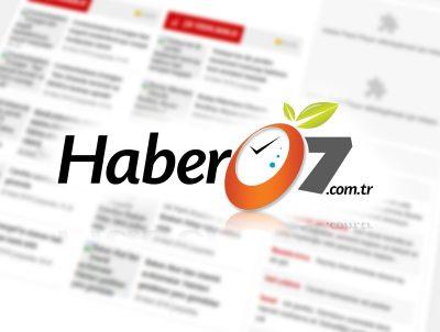 haber 07 Antalya haber sitesi logo tasarımı logosu
