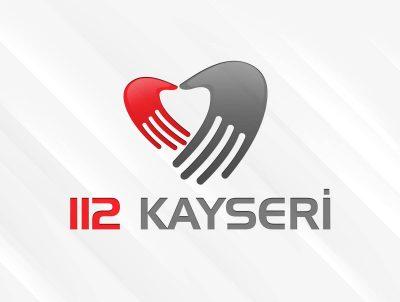 112 acil ambulans logo tasarımı logosu