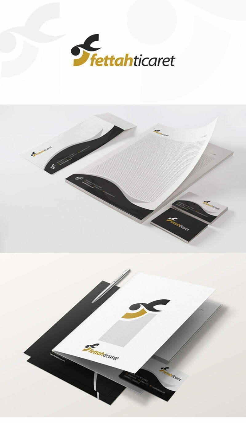 Fettah Ticaret Tekstil logo tasarımı