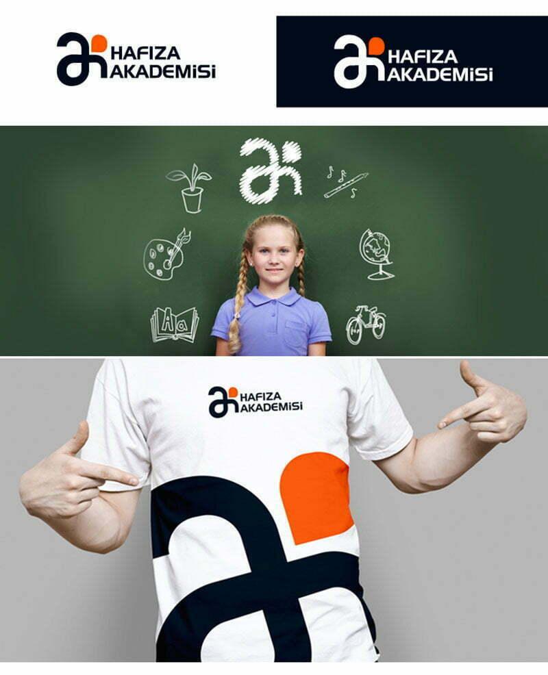 Hafıza akademisi logo tasarımı