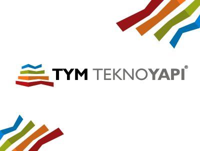 TYM Tekno yapı market logo kurumsal kimlik tasarımı