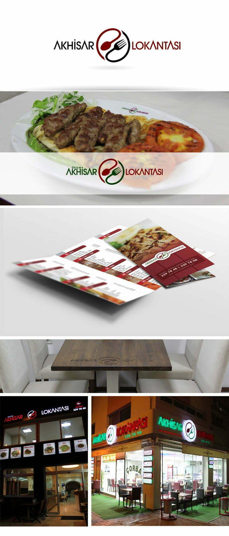 akhisar lokantası logo tasarımı lokanta
