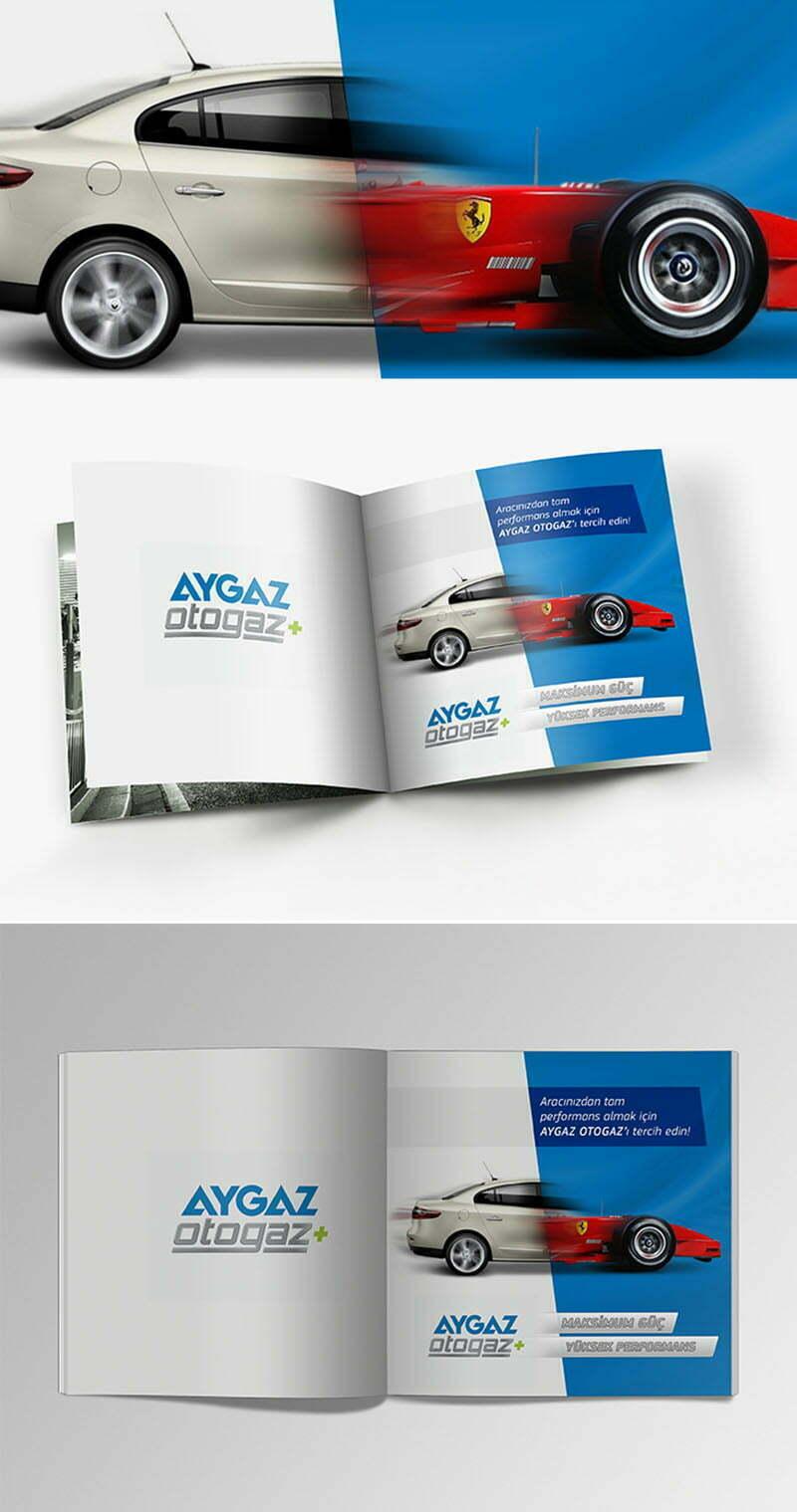 dergi reklam tasarımı