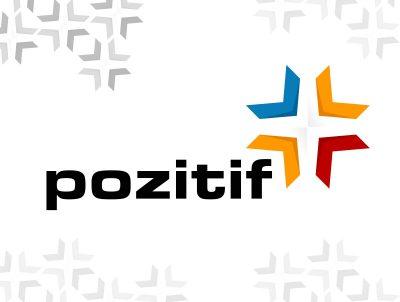 pozitif hizmet merkezi logo tasarımı