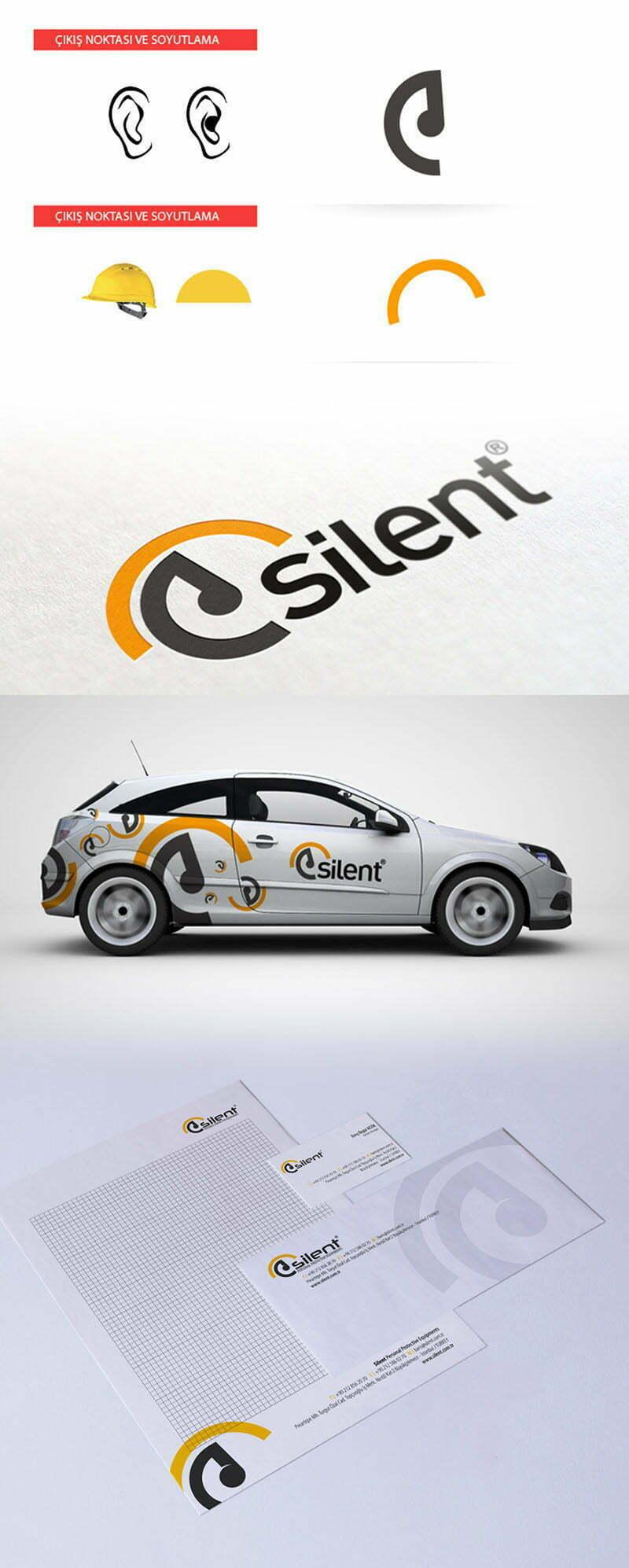 Slient iş güvenliği logo