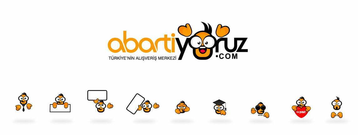 abartıyoruz web sitesi maskot tasarımı