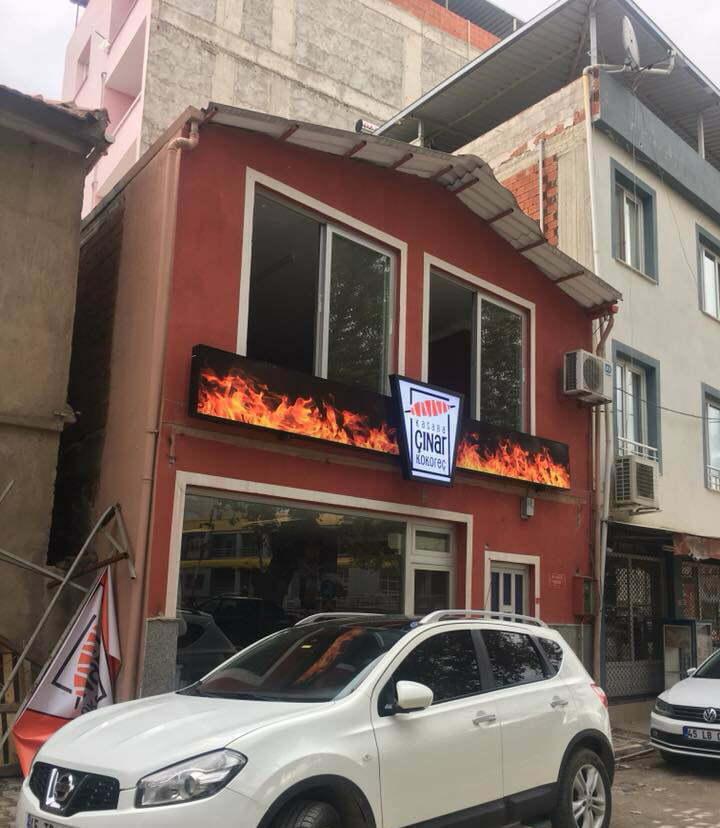 Kasaba Çınar Kokoreç Logo Tasarımı ve kokoreççi logosu konsepti